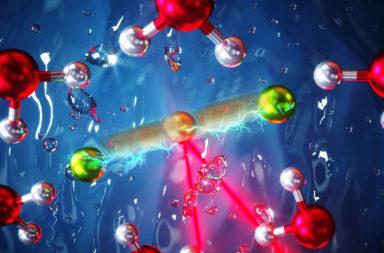 اكتشاف نوع جديد فائق القوة من الروابط الكيميائية - اكتشاف روابط مشابهة لروابط الهيدروجين في الماء - روابط الهيدروجين في الماء