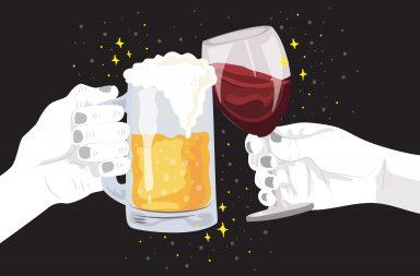مخاطر تناول الكحول لتخفيف الألم - استخدام الكحول لتخفيف آثار الألم عملية قديمة - تفاعل الكحول مع الأدوية - تثبيط الجهاز العصبي المركزي