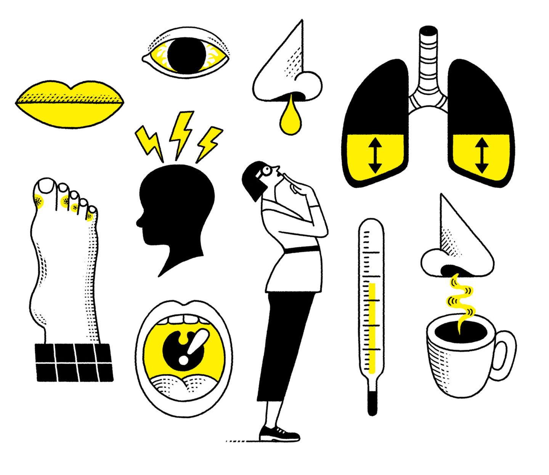 أعراض الإنفلونزا وعلاجها