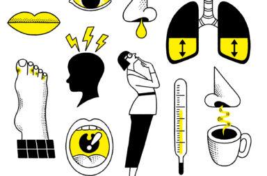 أعراض الإنفلونزا وعلاجها - التهاب القصبات الهوائية - ذات الرئة - الحمى - العدوى - كيف يصاب الإنسان بعدوى الإنفلونزا - التهاب الحلق