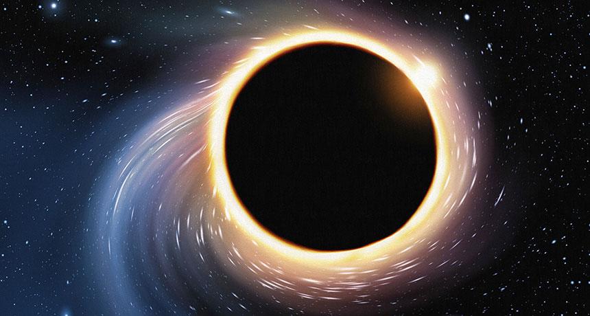 يوجد عدد لا نهائي من حلقات الضوء حول الثقوب السوداء.. كيف يمكننا رؤيتها؟