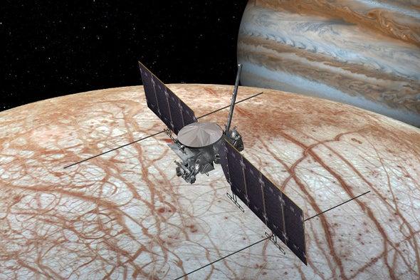 ربما تكتشف مهمة ناسا إلى القمر أوروبا دلائل على وجود حياة هناك