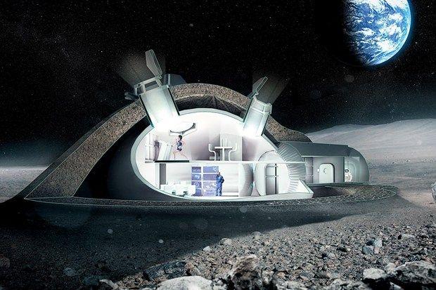 قد يكون بول رواد الفضاء أفضل مادة لبناء قواعد القمر المستقبلية