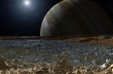 علماء الفلك يظنون أنهم حددوا الجرم السماوي الذي تعرض لأقوى اصطدام في مجموعتنا الشمسية - غانيميد - أحد أقمار كوكب المشتري - أضخم أقمار المجموعة الشمسية