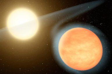 اكتشف العلماء قزمًا أبيض وشريكه يدوران بالقرب من بعضهما لدرجة أن القزم الأبيض يلتهم مواد من شريكه لينفجر الثنائي النجمي في نهاية المطاف إلى مستعر أعظم