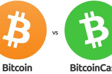 ما الفرق بين بيتكوين و بيتكاش - تعتمد شبكة بيتكوين على نظام تقنية بلوكتشين - العملات الرقمية - تقنية حديثة لتسجيل التعاملات