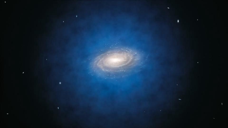 علماء الفلك يحلون لغز مجرة 99.99% منها مادة مظلمة
