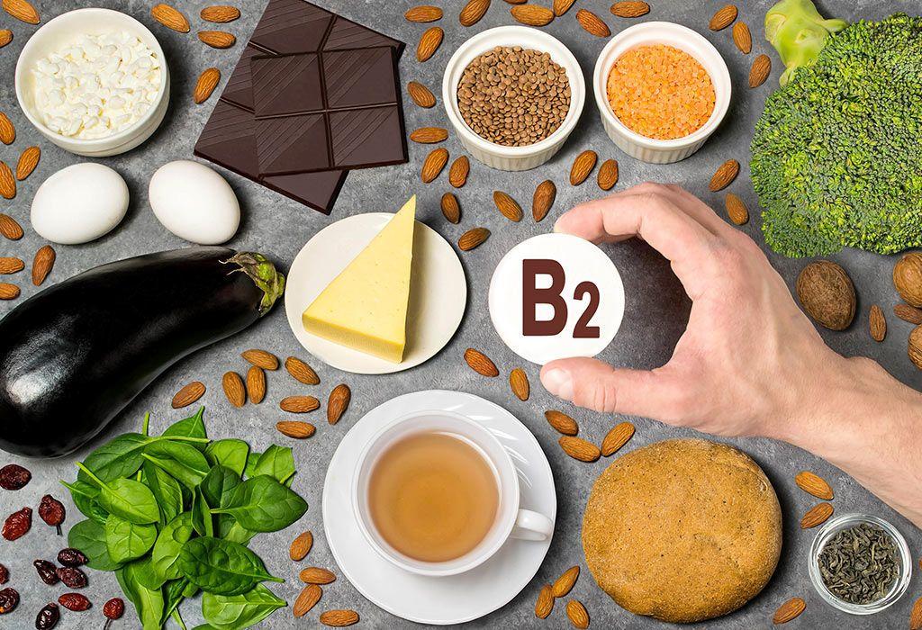 فيتامين B2 : فوائده ومصادره ومخاطر عوزه
