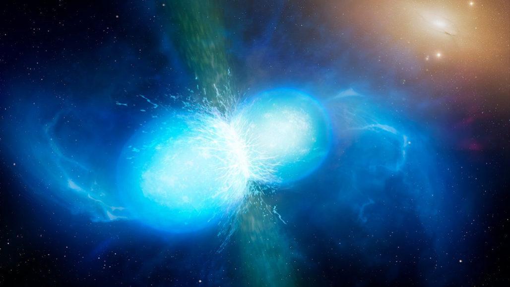 للمرة الثانية يرصد العلماء اصطدام نجم نيوتروني ملحمي