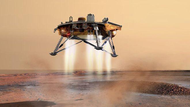 تربة المريخ غريبة جدًا، مشهد من جهود مسبار الخلد