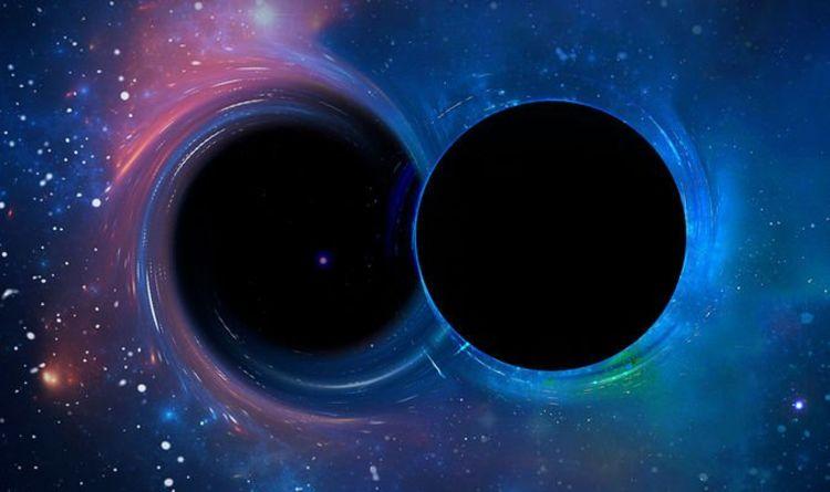 رصد ضوء ناتج عن تصادم ثقبين أسودين لأول مرة