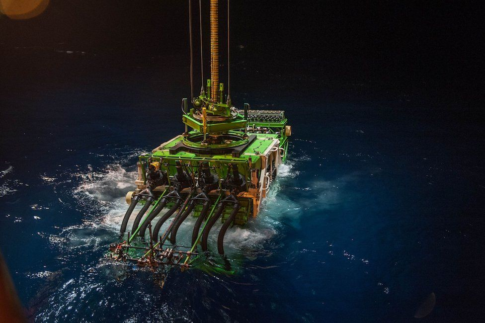 باتانيا 2: نموذج أولي لإحدى آلات التنقيب في قاع البحار