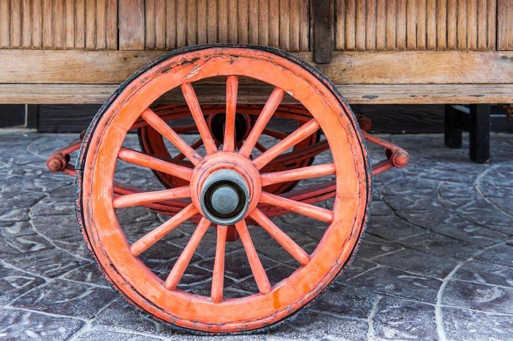 كيف تم اختراع العجلة ؟