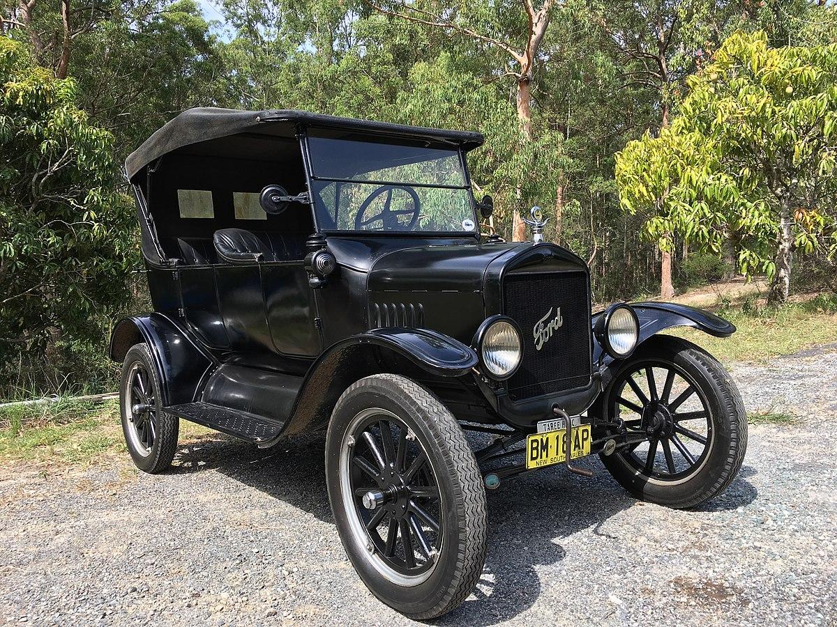 سيارة فورد موديل تي