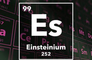 الآينشتاينيوم: أول دراسة تكشف تفاصيل هذا العنصر الغامض - دراسة حول الآينشتاينيوم: أحد أغرب العناصر كبيرة الذرات - معدن الأينشتاينيوم