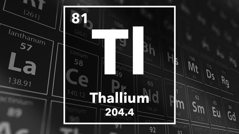 معلومات وحقائق عن عنصر الثاليوم