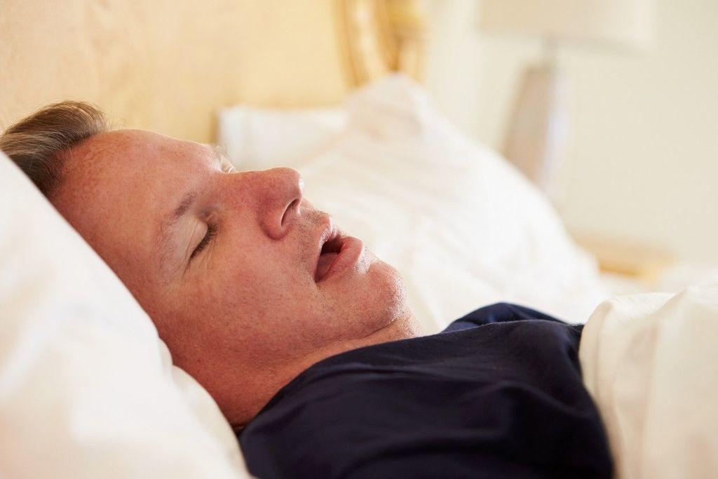 انقطاع النفس الانسدادي أثناء النوم