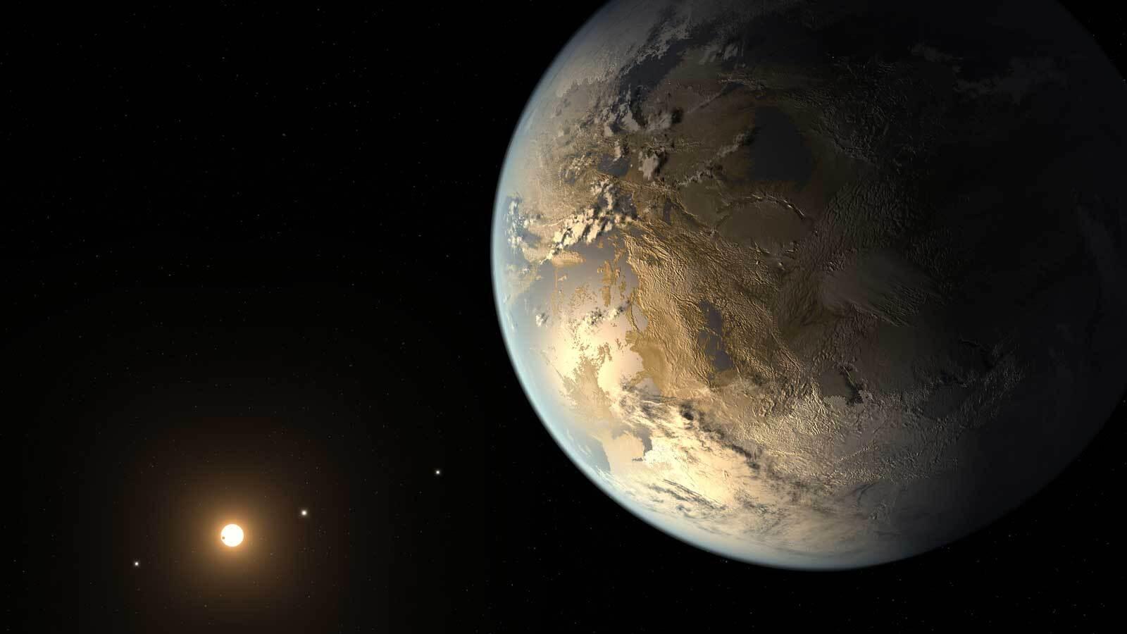 ربما يوجد نحو 300 مليون من العوالم الصالحة للسكن في مجرة درب التبانة - الكواكب الصخرية التي تدور حول نجوم مثل الشمس - الكواكب الخارجية - تلسكوب كبلر