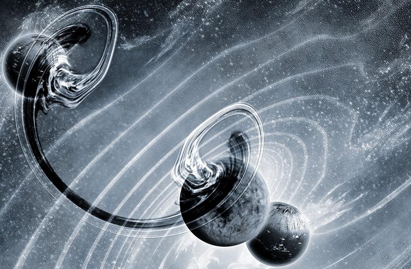 تلسكوب هابل يرصد أصغر كتل معروفة من المادة المظلمة
