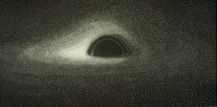يوجد عدد لا نهائي من حلقات الضوء حول الثقوب السوداء.. كيف يمكننا رؤيتها - حلقة الفوتون حلقة مثالية من الضوء تدور حول الثقب الأسود