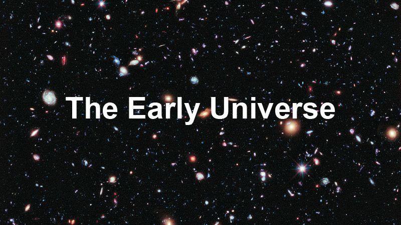 الخط الزمني لنشوء الكون : فترة التأثر الكهروضعيف