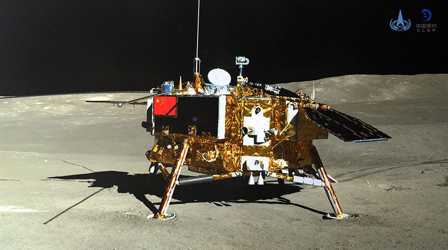 على الجانب البعيد من القمر يبدأ المتجول الصيني ومركبة الإنزال يومهما القمري الخامس عشر
