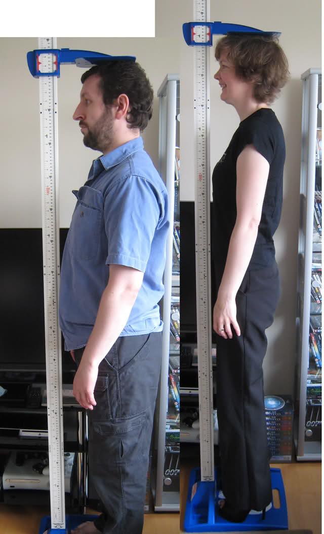 معلومات عن الزيادة في الطول بين الذكور و الإناث