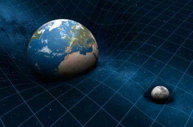 ما هو الجرافيتون الجاذبية هي تشوه للزمكان النظرية النسبية العامة نظرية أينشتاين جاذبية نيوتن مجال قوة الجاذبية الفوتونات الجرافيتونات