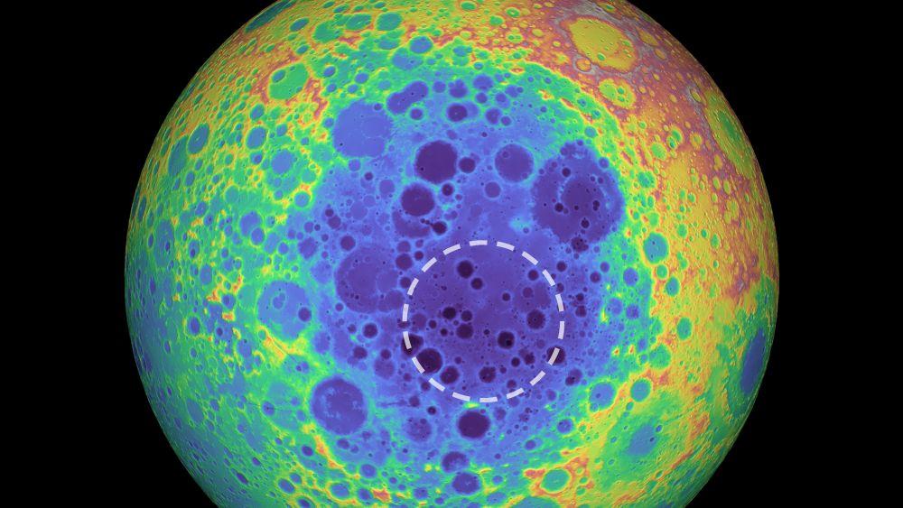 الفوهة الكبرى على سطح القمر تكشف التاريخ القديم لتكونه
