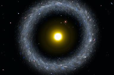 جرم هوغ هو مجرة داخل مجرة داخل مجرة والسبب غير معروف - إحدى الظواهر الغريبة في الفضاء - ماذا تسمى حالة مجرة داخل مجرة في الكون؟