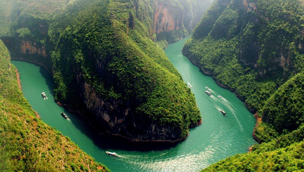 حقائق عن نهر يانغتسي
