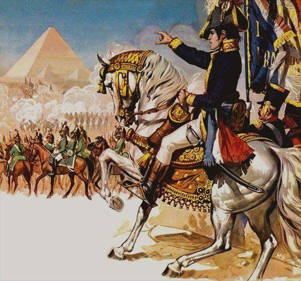 الحملة الفرنسية على مصر - الأسطول البريطاني بقيادة هوراشيو نيلسون في البحر الأبيض المتوسط - الاحتلال الفرنسي لمصر - السلطان العثماني