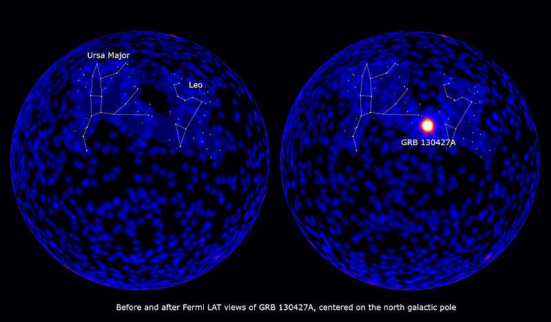 انفجار أشعة جاما (130427A)