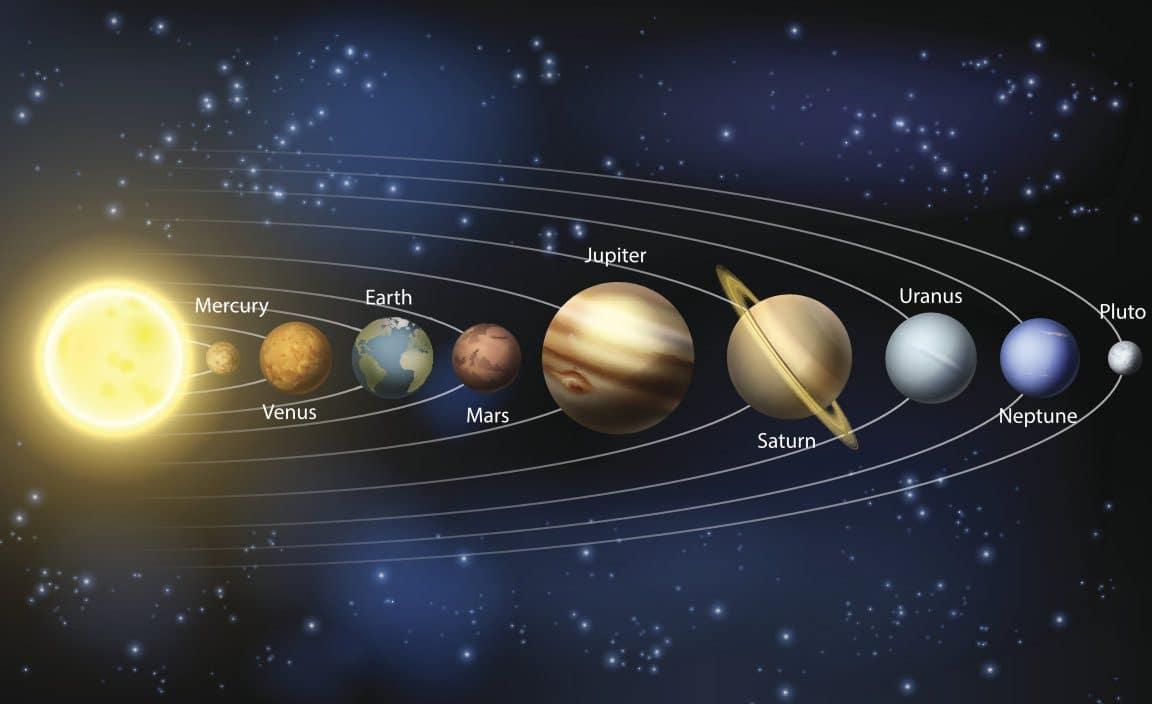 ما هي ألوان كواكب مجموعتنا الشمسية أنا أصدق العلم