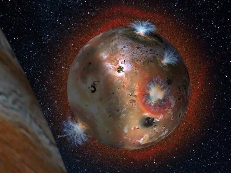 بركان عملاق على قمر كوكب المشتري يمكن أن يثور في أي يوم