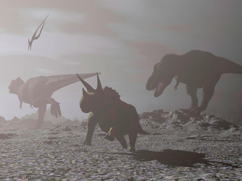 دراسة تقترح سببا جديدا لانقراض الديناصورات يختلف عما نعرفه