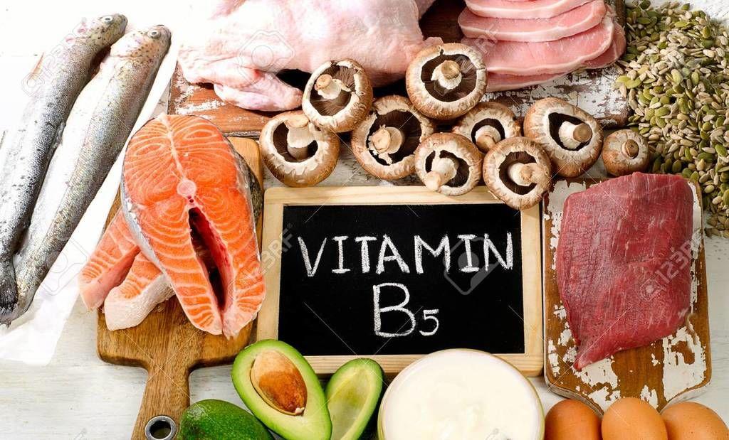 فيتامين ب5: وظيفته ومصادره وأعراض نقصه