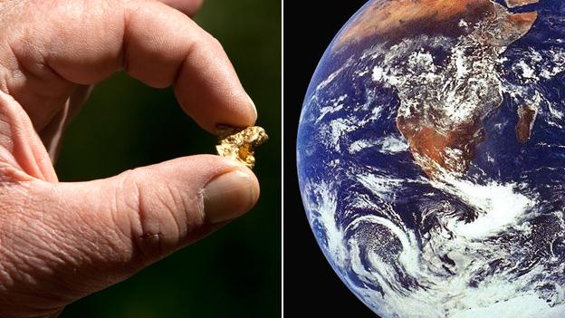 دراسة تفند ما سبق حول مصدر كل الذهب في الكون - التفاعلات النووية الشديدة - الكم الهائل من الذهب الموجود في كوكب الأرض أو النظام الشمسي - المستعرات العظمى