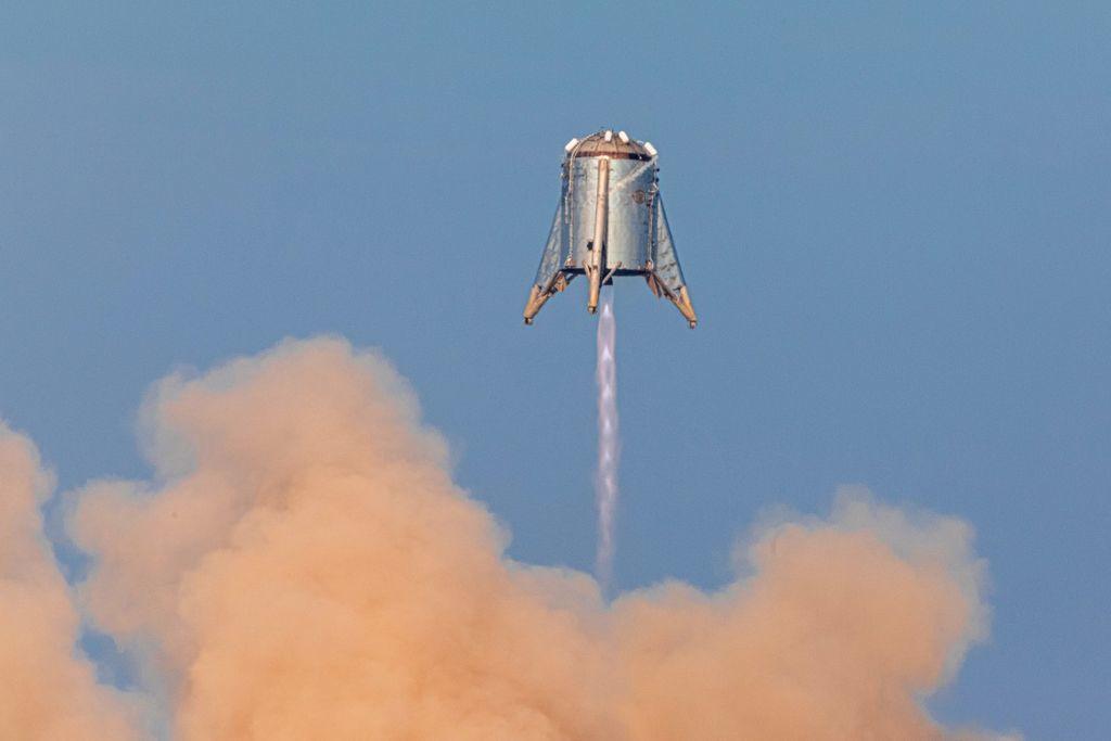 """اجتاز """"Starhopper"""" صاروخ المريخ التجريبي التابع لشركة سبيس إكس آخر تجربة بنجاح"""