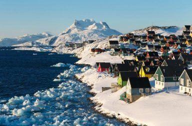 غرينلاند الجليد الغطاء الجليدي الإسكيمو