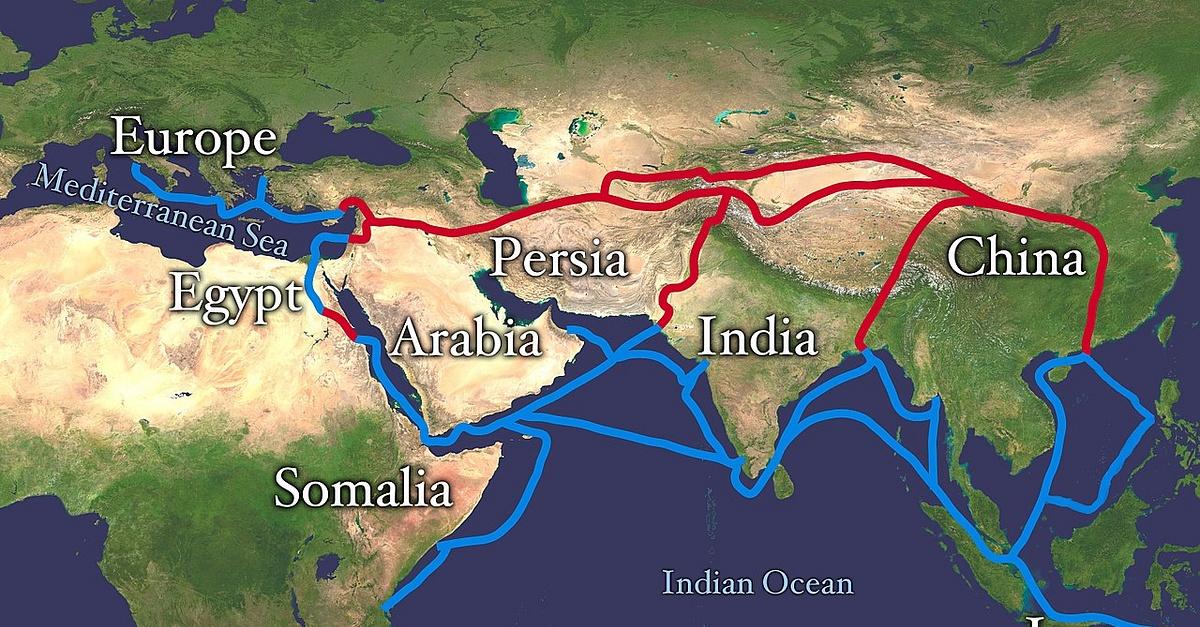 طريق الحرير.. لمحة تاريخية - شبكة من طرق التجارة التي وصلت الصين والشرق الأقصى بالشرق الأوسط وأوروبا - طريق الحرير التجاري