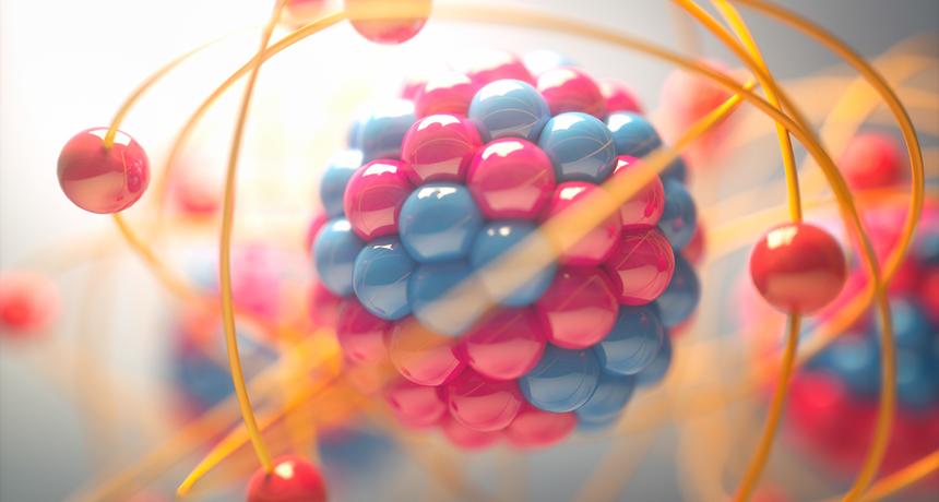 الكثير من كتلة البروتون يأتي من طاقة الجسيمات الموجودة داخله