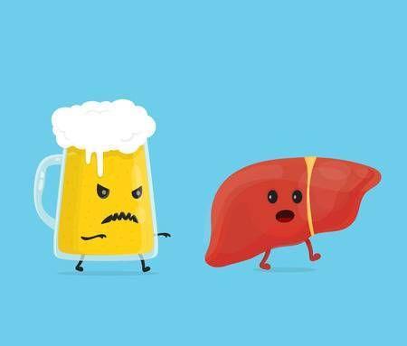 حتى لو كنت لا تشرب الكحول قد يتعرض كبدك للأذية من الكحول