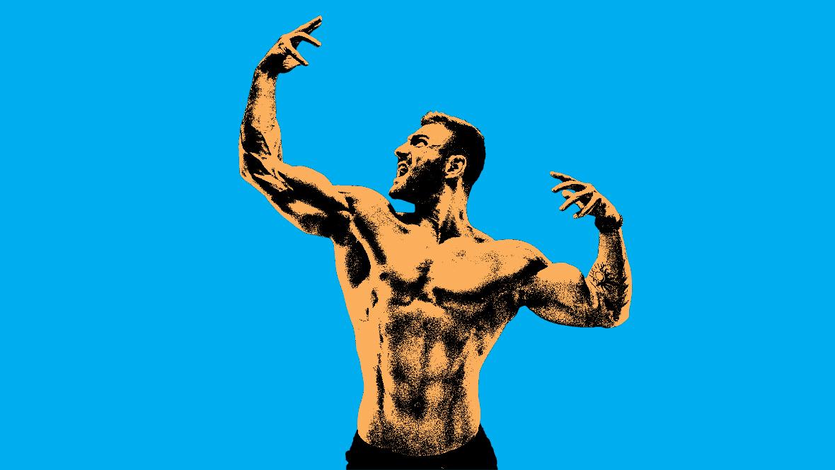 ما كمية العضلات التي يمكن اكتسابها في شهر؟