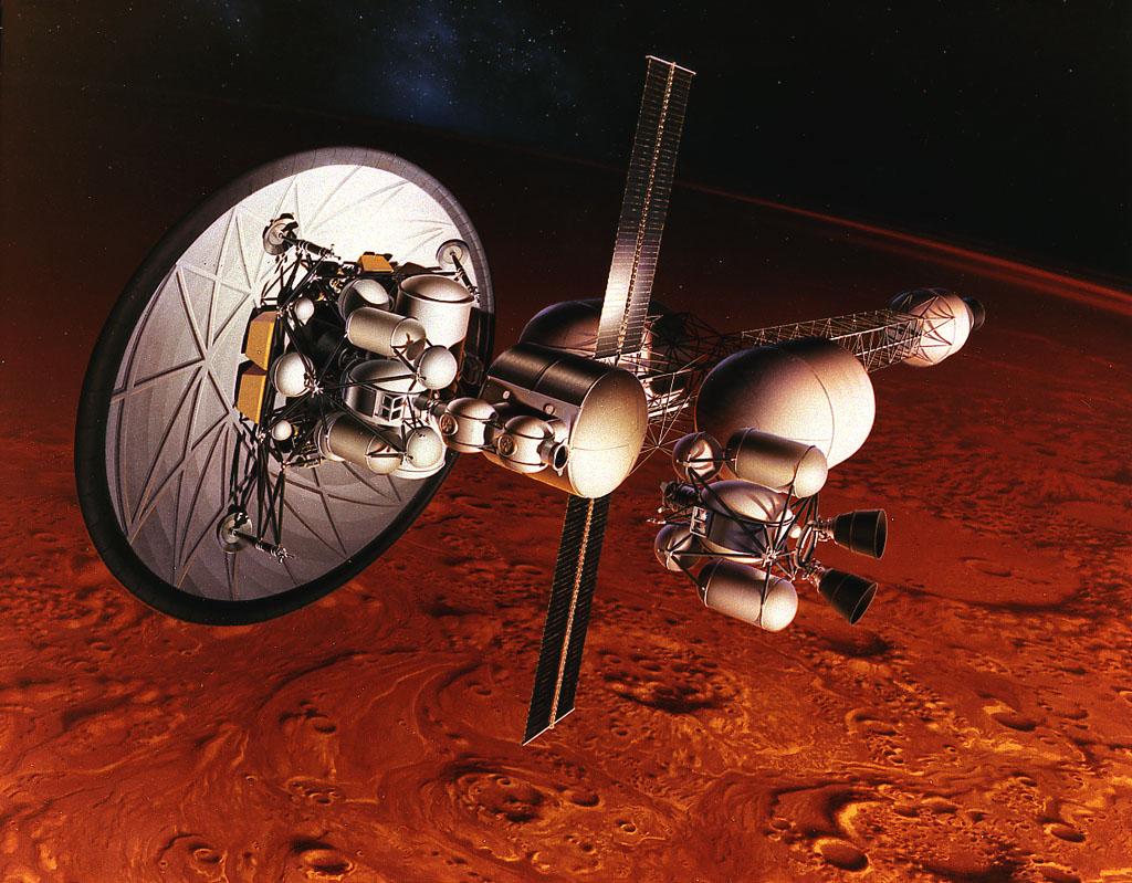 الدفع النووي.. الطريقة الواقعية الوحيدة لإرسال البشر إلى المريخ
