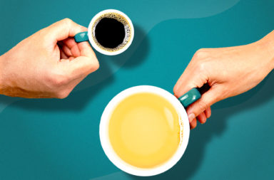 أيهما أفضل لصحتك: الشاي الأخضر أم القهوة؟ - فوائد وسلبيات القهوة والشاي الأخضر والطرق الصحية وغير الصحية لتحضيرهما - القهوة والشاي الأخضر