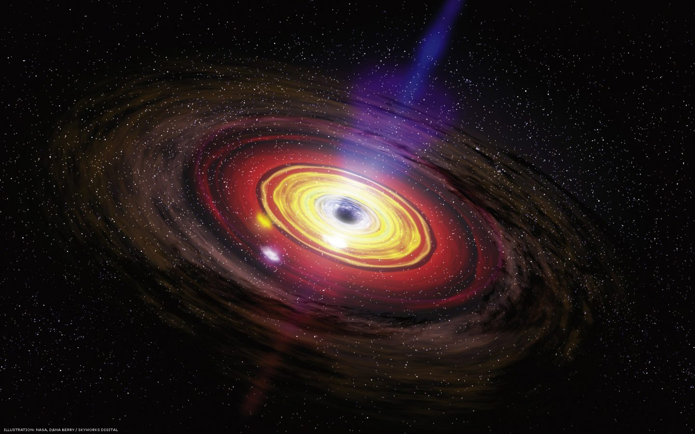 نموذج محاكاة مبتكر يزودنا بنظرة مقربة إلى الثقب الأسود في مركز مجرتنا