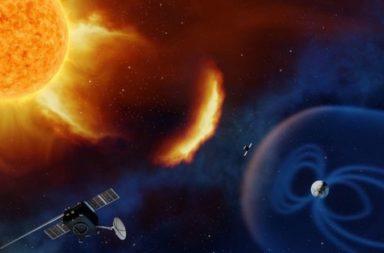 طريقة جديدة لاكتشاف العواصف الشمسية قبل أن تضرب الأرض - ما هي الكتل الإكليلية المقذوفة التي تنتجها الشمس عند حدوث العواصف الشمسية؟