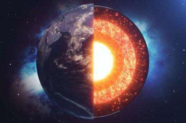 العلم الحديث يشرح اللب الداخلي الغامض للكرة الأرضية أعمق الأشياء غير المعروفة في الفيزياء الجغرافية نواة الأرض الداخلية الحارة