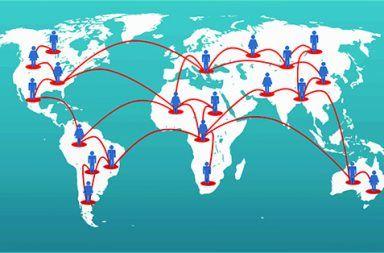 العولمة في صورة
